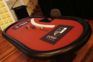 casino equipment hire poker table