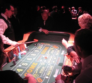 casino equipment hire craps table