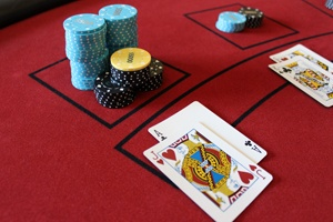 Corporate event blackjack cards