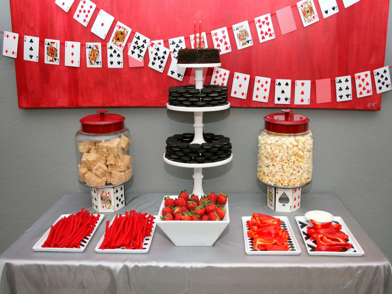 Blackjack birthday party