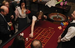 roulette table hire perth
